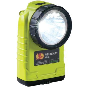 Yellow Pelican 3715 LED Flashlight - Gen 2