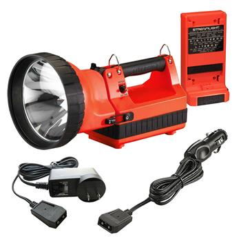 Orange Streamlight HID LiteBox Rechargeable Lantern
