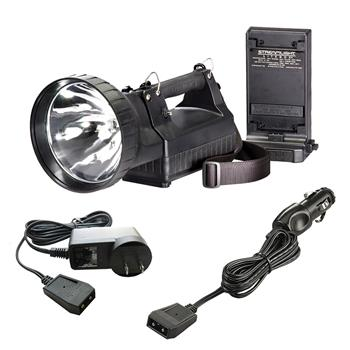 Black Streamlight HID LiteBox Rechargeable Lantern