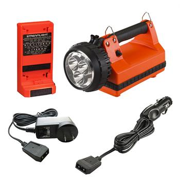 Orange Streamlight E-Spot LiteBox Rechargeable Lantern Power Failure System