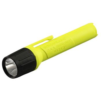Yellow Streamlight 2AA ProPolymer HAZ-LO Flashlight