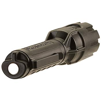 Streamlight Dualie 2AA LED Flashlight has an  Integrated magnet on the tail end of light