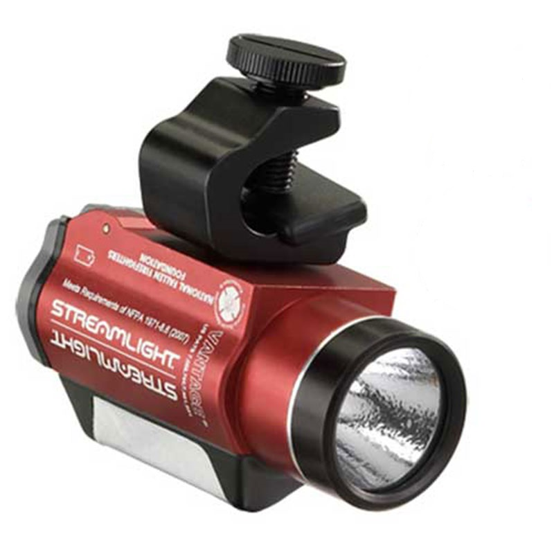 Red Streamlight Vantage LED Helmet-Mounted Light