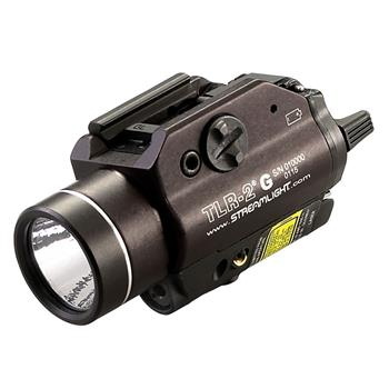 Streamlight TLR-2 G Weapon Light with Integrated Green Aiming Laser