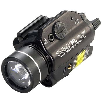 Streamlight TLR-2 HL Weapon Light with red laser