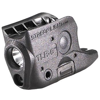 Streamlight TLR-6 Glock Weapon Light custom fit for the GLOCK® 42/43/43X/48 only