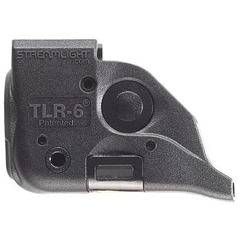 Black Streamlight TLR-6 Rail Mount Weapon Light for the M&P