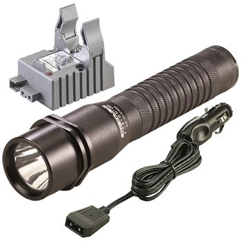 Streamlight Strion LED Rechargeable Flashlight with DC charge cord and one base
