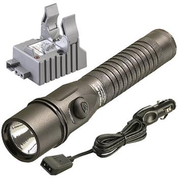 Streamlight Strion DS Rechargeable LED Flashlight with DC charge cord and one base