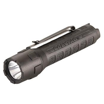 Black Streamlight PolyTac X LED Flashlight