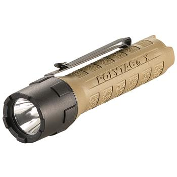 Coyote Streamlight PolyTac X LED Flashlight