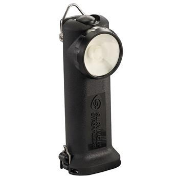 Black Streamlight Survivor LED Rechargeable Flashlight