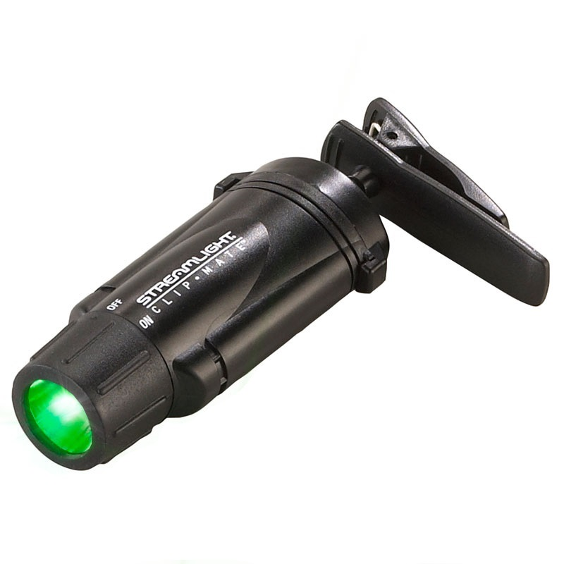 Streamlight Clipmate Green Leds Free Shipping