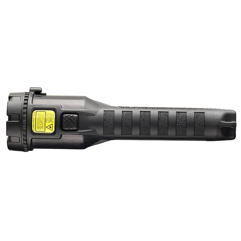 Streamlight Dualie® 3AA Laser LED Flashlight stippled texture for a sure grip