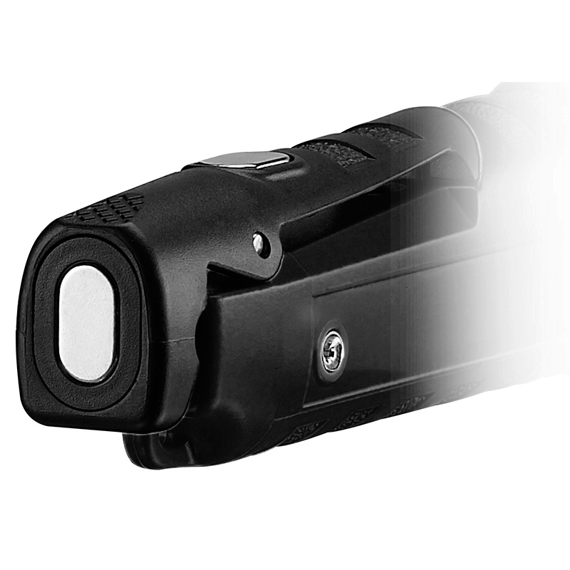 Streamlight Dualie® Rechargeable Flashlight magnet on tail end of clip