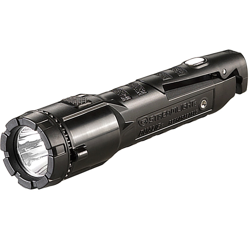 Streamlight Dualie® Rechargeable Flashlight magnet on top of clip