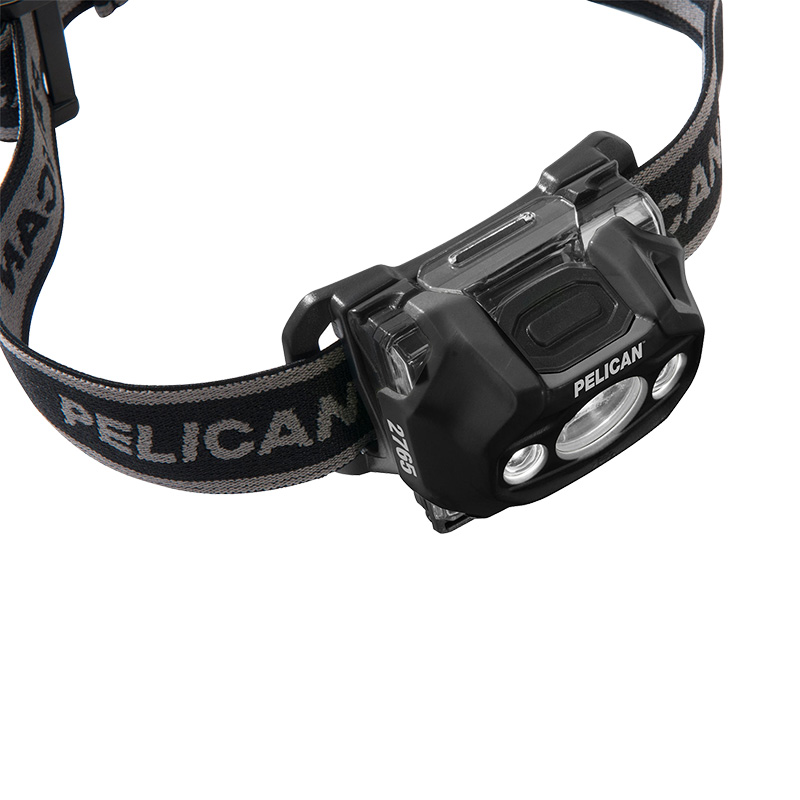 Pelican 2765 LED Headlamp push-button top switch