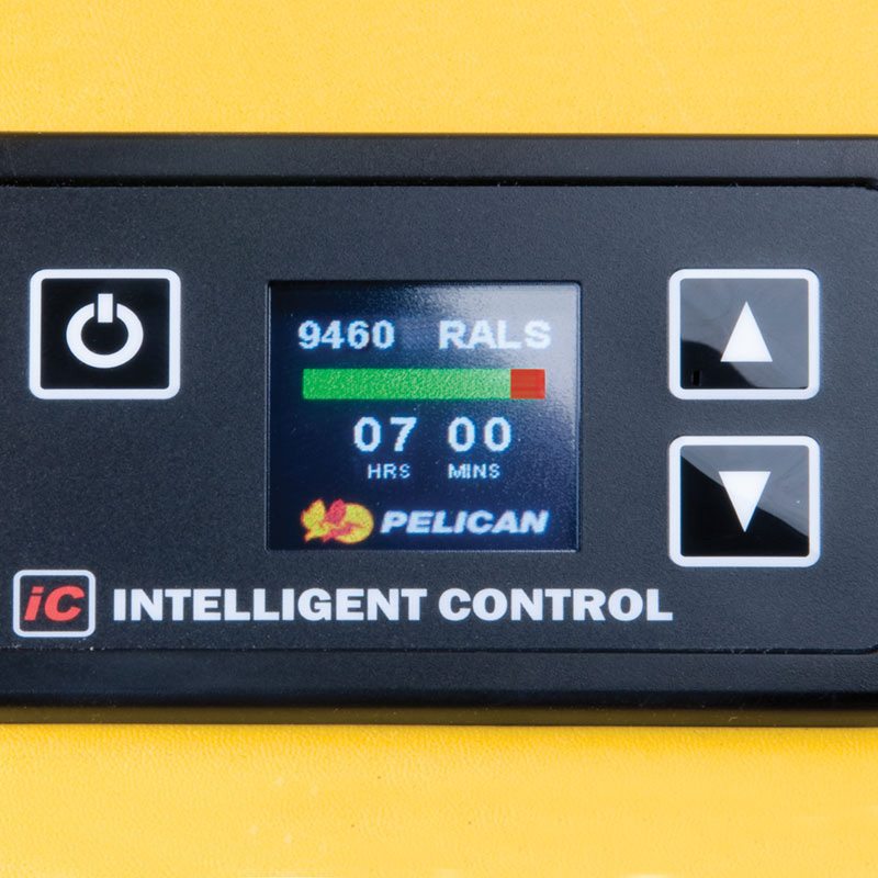 Pelican 9460M Remote Area Lighting System full-time battery level indication