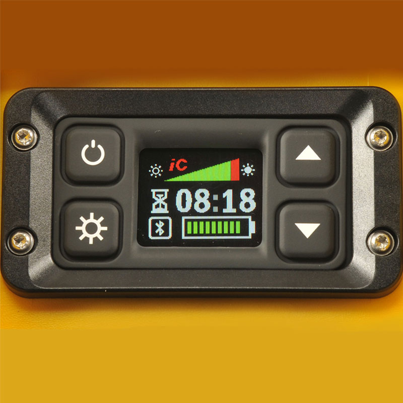 Pelican 9470M Remote Area Lighting System Control Screen