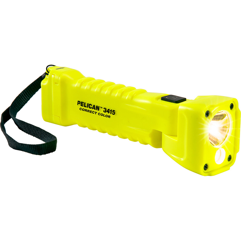 Yellow Pelican™ 3310MCC LED Flashlight compact design