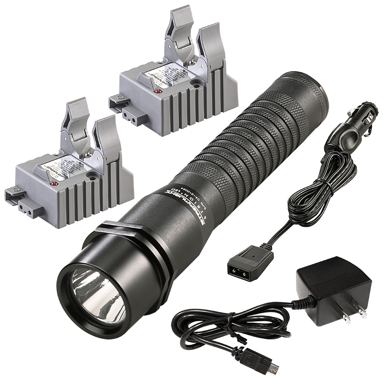 Streamlight Strion LED Rechargeable Flashlight with AC/DC charge cords and two bases