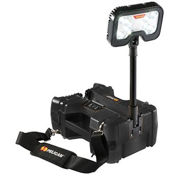Pelican 9480 Remote Area Lighting System extends to almost 24""