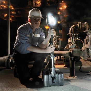 Pelican 9480 Remote Area Lighting System illuminates large or confined spaces