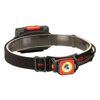 Streamlight Twin-Task® 3AA Headlamp industrial model with rubber hard hat strap