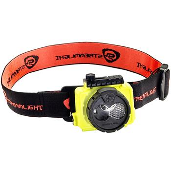 Yellow Streamlight Double Clutch USB LED Headlamp
