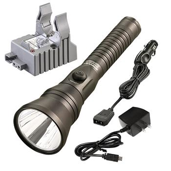 Streamlight Strion DS HPL Rechargeable flashlight with AC/DC charge cords and one base