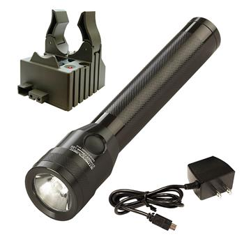 Streamlight Stinger Classic LED Flashlight with AC charge cord and one base