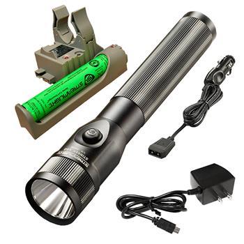 Streamlight Stinger LED - AC/DC Charge Cords - 1 PiggyBack Base - Black FREE SHIPPING