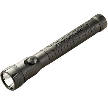 Black Streamlight PolyStinger LED HAZ-LO Rechargeable Flashlight