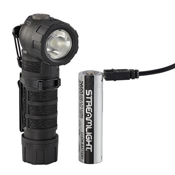 Black Streamlight PolyTac 90X USB LED Flashlight