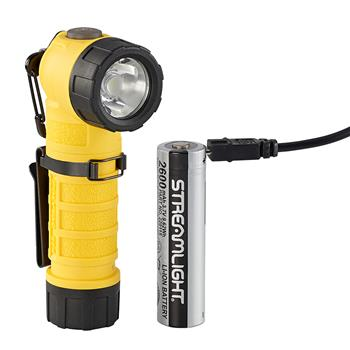 Yellow Streamlight PolyTac 90X USB LED Flashlight