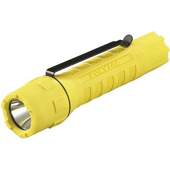 Yellow Streamlight PolyTac LED Flashlight